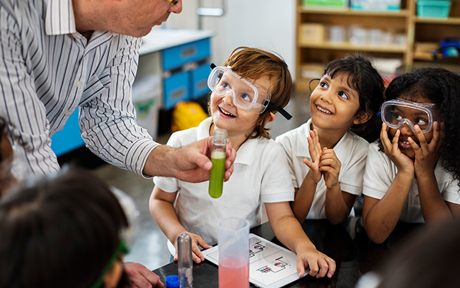 Chemistry Helps Kids Get Back to School