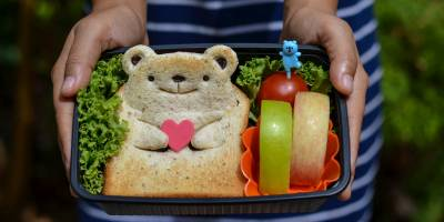 Kids Lunch: Bear-Themed